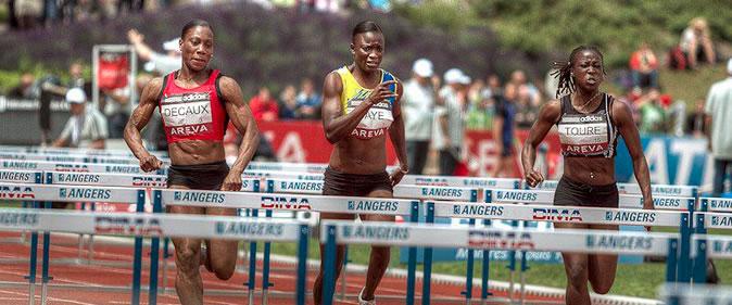 FayeGnima03-une Jeux africains: Gnima Faye remporte l'argent au 100m haies Athlétisme