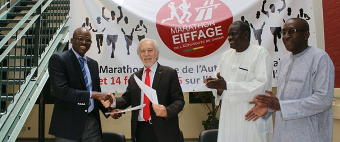 Yacine Fall, Coordonnatrice g�n�rale du Marathon Eiffage : �Nous attendons pr�s de 15 000 participant�