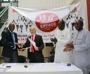 Marathon international de Dakar en f�vrier 2016 : Dix mille athl�tes sur l�autoroute � p�age