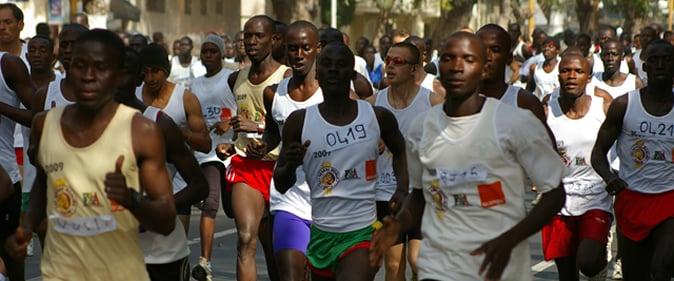 Le marathon international de la Petite C�te peut �tre