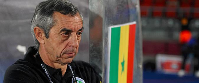 Alain Giresse : �Il y a eu trop de d�chets techniques face � l'Afrique du Sud�