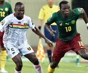 Match nul entre la Guin�e et le Cameroun (1-1)