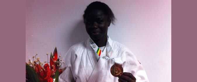 HortenceDiedhiou02-une L'équipe sénégalaise s'impose à domicile au Tournoi international de Dakar Arts martiaux