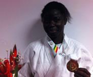 Distinction - Meilleure sportive de la capitale du Sud : Hortance Diédhiou décorée