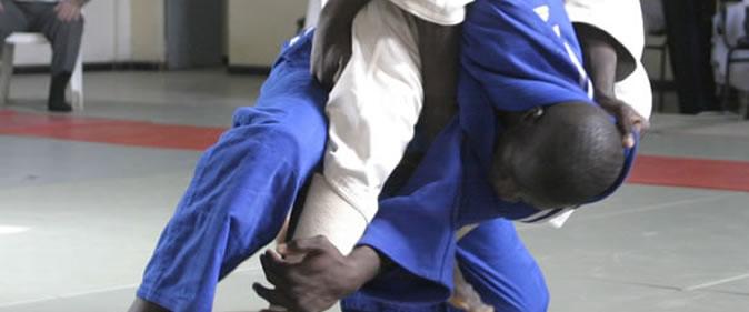 Judo02-une Maître Abdou Karim Seck,  l'entraîneur de l'équipe nationale de judo : «Nous espérons avoir au minimum deux médailles d'or» Arts martiaux