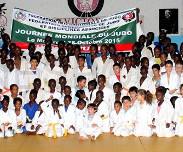Don de materiel du Japon a la federation senegalaise de Judo: 50 tatamis et de 50 judogis (Kimonos) offerts au Sénégal