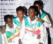 Championnat d'Afrique de Karat� : Le S�n�gal 2e africain en Kumite f�minin !