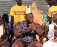 Tousse : Birahim Ndiaye r�fute le titre de Roi des ar�nes