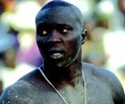 Le lutteur Saloum Saloum � la prison de Reubeuss pour une affaire de drogue