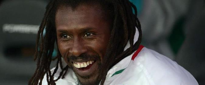 Cisse03-une Aliou Cissé se félicite de la belle réaction de ses joueurs Equipe nationale