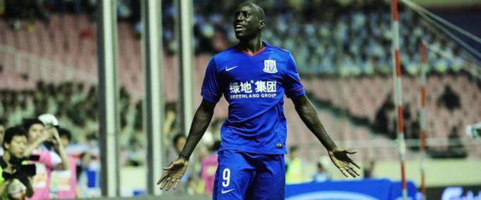 But de Demba B�: Guangzhou Evergrande 2-1 Shanghai Shanhua (J7)