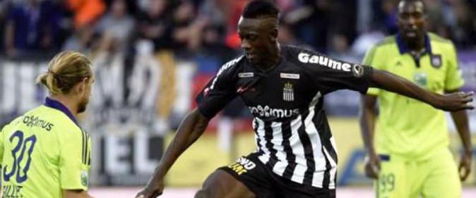 BabyAmara02-une But de Amara Baby : Charleroi s'impose face à Anderlecht (2-0) Buts des Lions