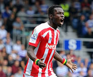 But de Mame Biram Diouf : QP Rangers 2-2 Stoke City [05e Journ�e]