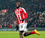 Stoke City : Mame Biram Diouf, meilleur buteur prim�