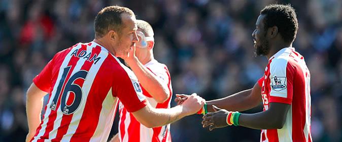 But de Mame Biram Diouf : Stoke 2-1 Southampton [33e Journ�e]