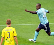But de Jacques Faty : Wellington Phoenix 0-3 Sydney FC [23e Journ�e]