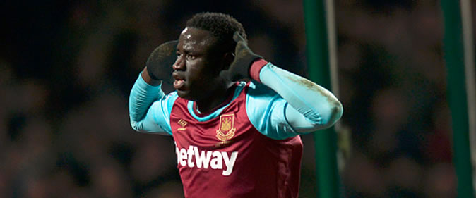 But de Cheikhou Kouyat�: West Ham 2-1 Chelsea (4e tour League Cup)