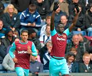 But de Cheikhou Kouyat�: West Bromwich0-3 West Ham (J36)
