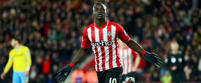 But de Sadio Man� : Southampton 1-0 Crystal Palace [28e Journ�e]