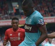 But de Diafra Sakho : Liverpool - West Ham 0-3 [4e journ�e Premier League]
