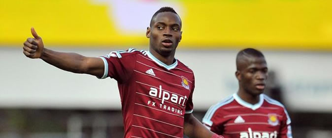 But de Diafra Sakho : Burnley 1-3 West Ham [08e Journ�e]