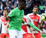 But de Bayal Sall: Saint-Etienne 1-1 Monaco (J26)