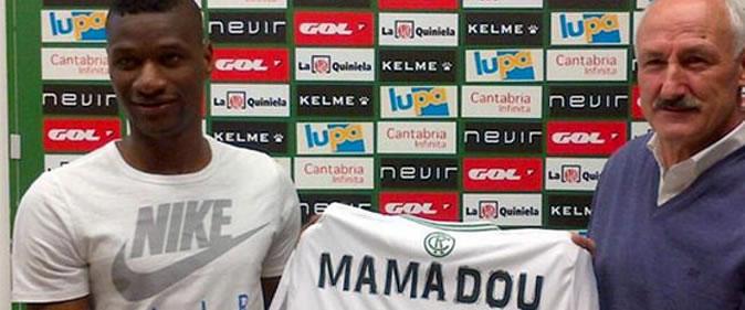 Mamadou Sylla pr�t� au Racing Santander