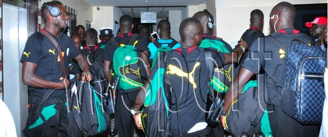Camp d'entrainement au Rwanda : Les lions � Lemigo h�tel de Kigali