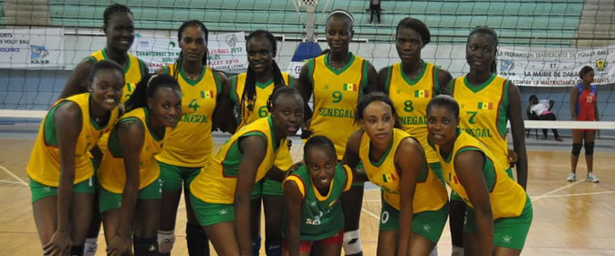 Sen09-une Jeux Africains - Volley-Ball : Les Lionnes chutent d'entrée Volley-ball